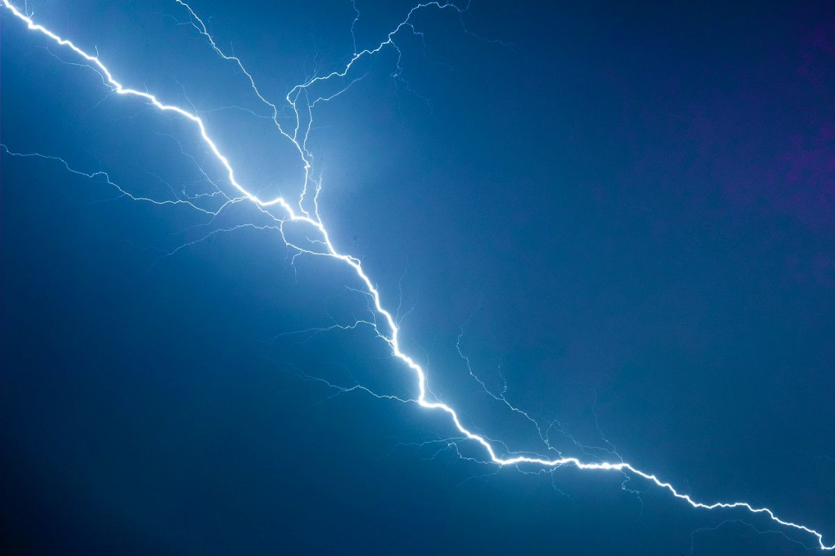 Ostrzeżenie I stopnia o burzach z gradem
