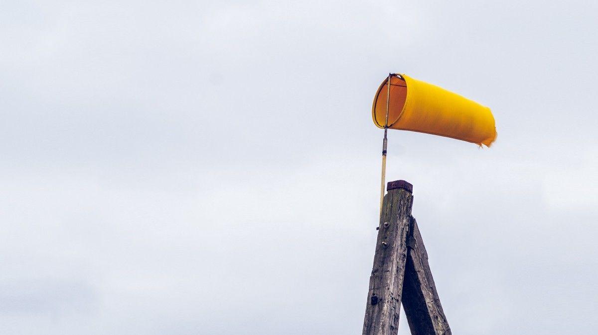 Silny wiatr - ostrzeżenie I stopnia
